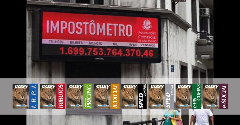 Impostômetro alcança R$ 1,6 trilhão e bate recorde
