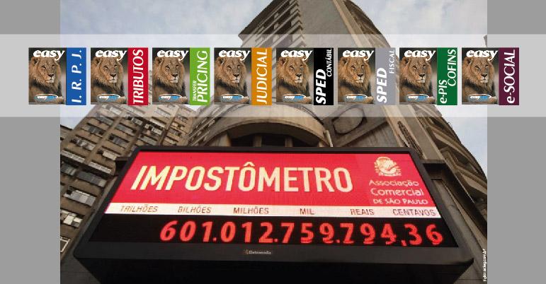 Brasileiro já pagou mais de R$ 600 bilhões de impostos no ano