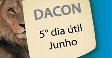 Prorrogação DACON