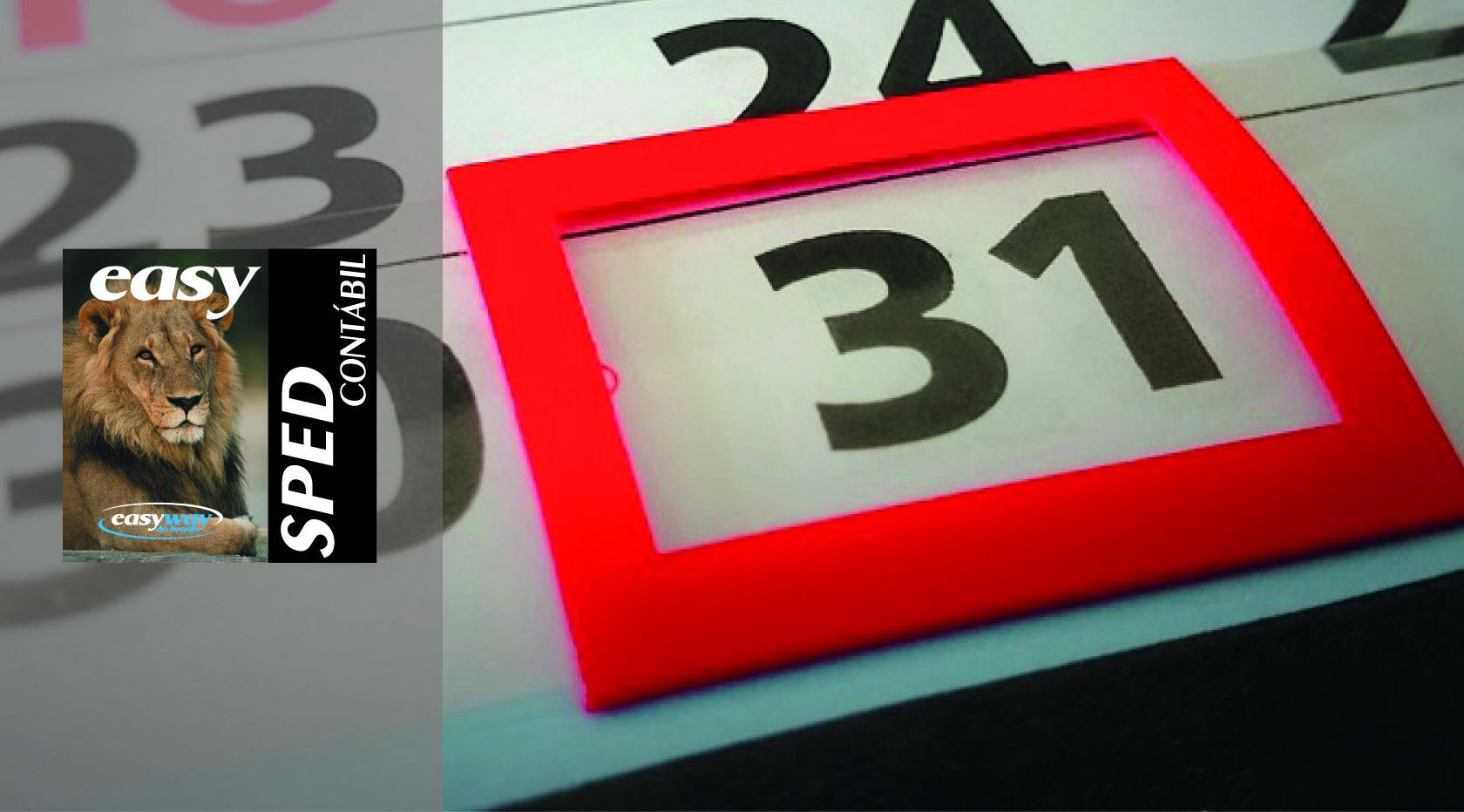 ECD deve ser entregue até dia 31 de julho