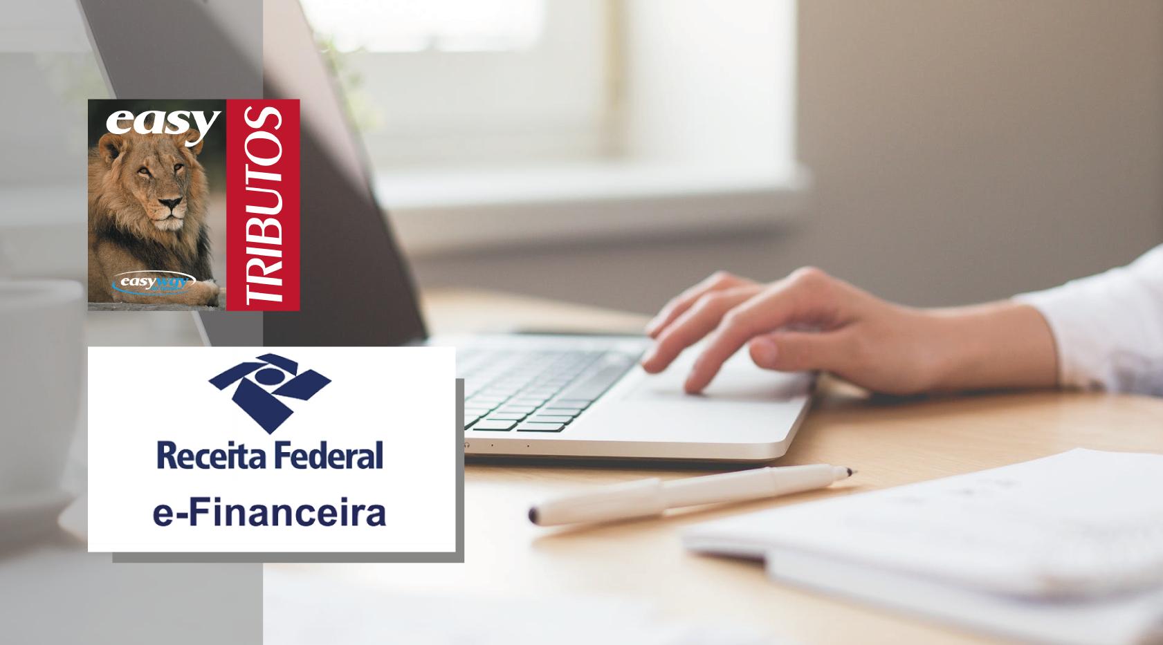 Novo manual orienta elaboração da eFinanceira