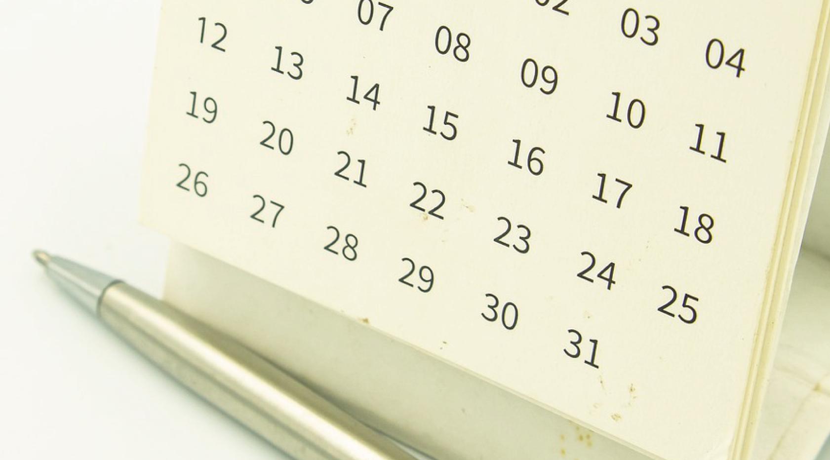 Fique atento: quatro datas fundamentais do planejamento tributário