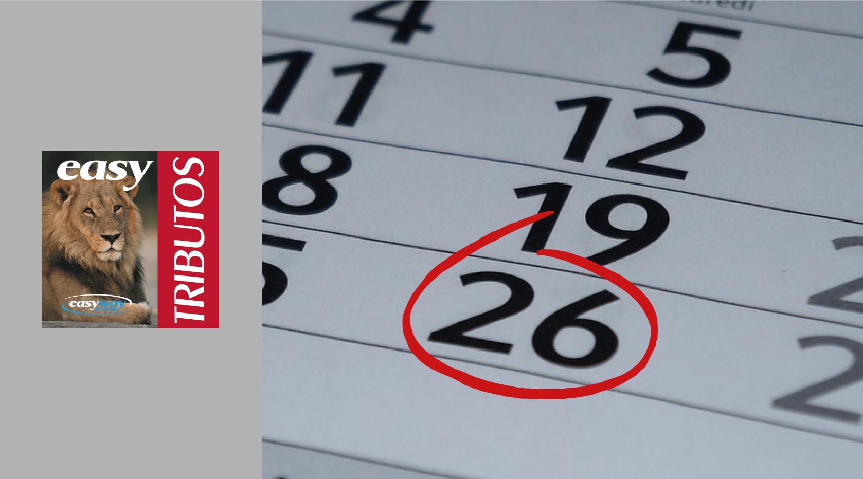 Três obrigatoriedades têm prazo final no dia 26 de fevereiro
